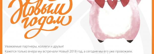 С Новым 2019 годом!