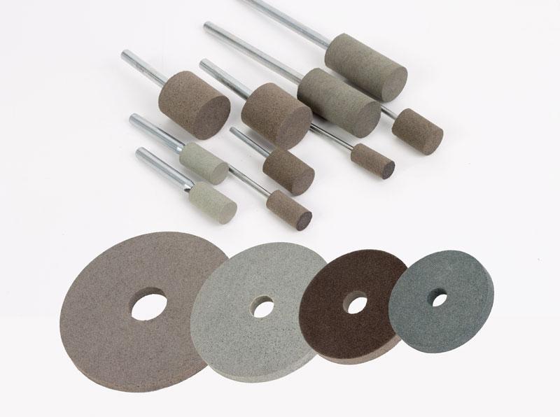 Полировальные круги и головки на полимерных связках BRUNI